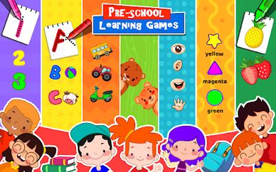 تحميل العاب ذكاء للاطفال الصغار Preschool games for little kids للأندرويد