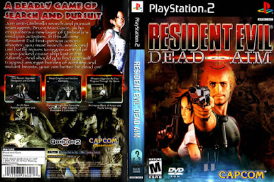Descargar Resident Evil - Dead Aim para PlayStation 2 en formato ISO región NTSC y PAL en Español Multilenguaje Enlace directo sin torrent. Los héroes nunca mueren, conocido en Occidente como Resident Evil: Dead Aim, es un videojuego de la franquicia Resident Evil para PlayStation 2. Es el cuarto capítulo de la serie Gun Survivor, y fue programado por Cavia.