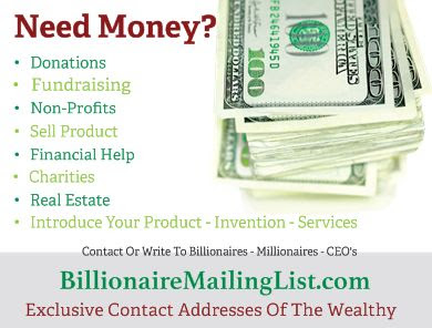 Exclusive Private Contact Addresses of the Wealthy