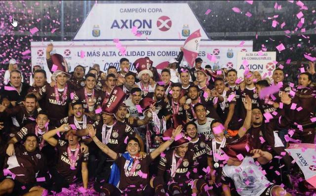 Lanús Campeón Torneo Transición 2016