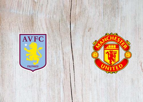 Aston Villa vs Manchester United -Highlights 09 July 2020