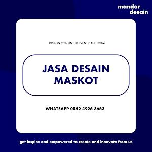 Jasa Desain Maskot Berkualitas & Profesional