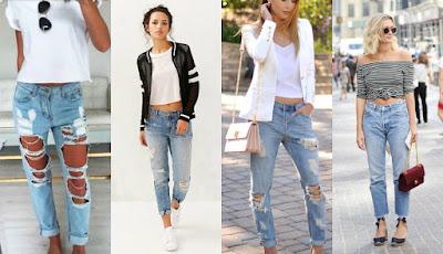 Boyfriend Jeans Cocok Untuk Cewek Berpaha Besar