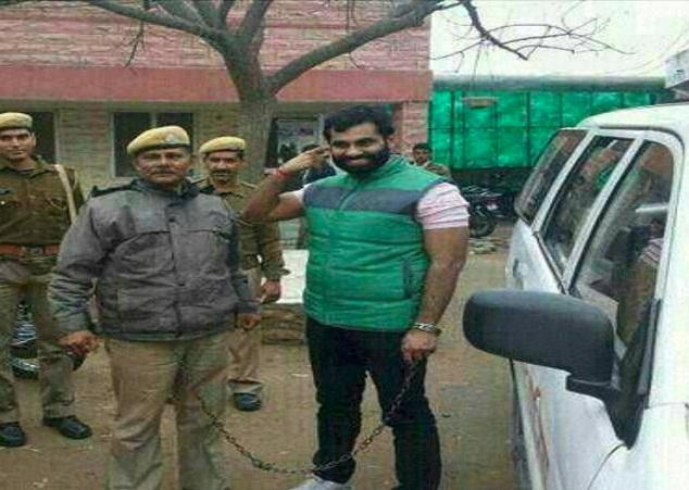 Notorious-contract-killer-punk-aanand-Pal-Singh-fled-jaipur- कुख्यात बदमाश और सुपारी किलर आनन्द पाल सिंह  फरार