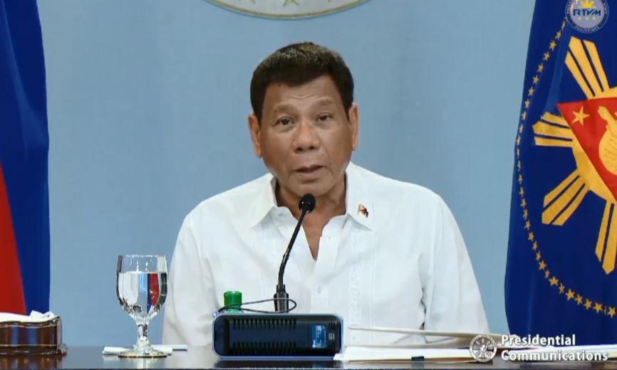 Duterte announces quarantine classifications for June