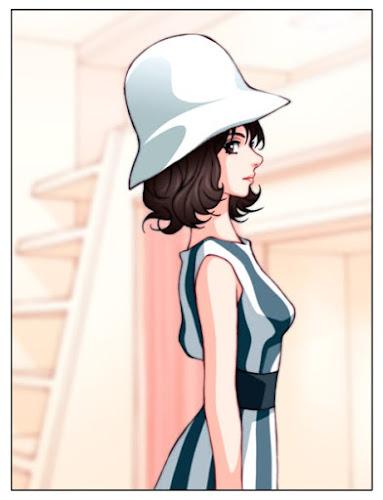 ボッカチオ'70というイタリア・フランス合作のオムニバス映画に出演していたマリサ・ソリナスさんを参考に描いた絵