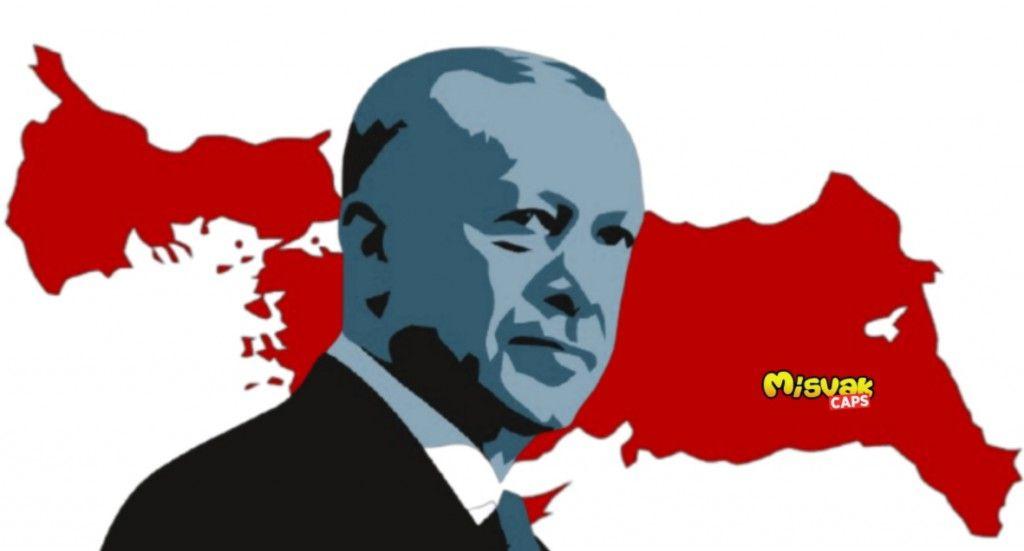Τουρκία: Νέος κατάπτυστος χάρτης με τη μισή Ελλάδα υπό τουρκική κατοχή