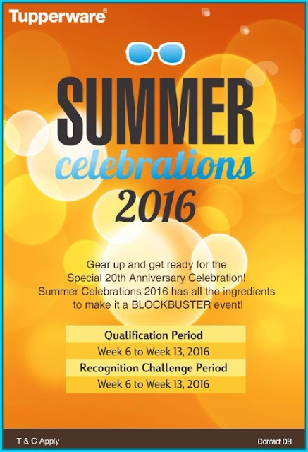 Tupperware Summer celebration 2016