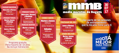 MEDIA MARATÓN DE BOGOTÁ 2017 2