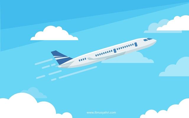 Pesawat Pukul 11 dan Tekad Emak untuk #JadiBisa Menuju Tanah Suci