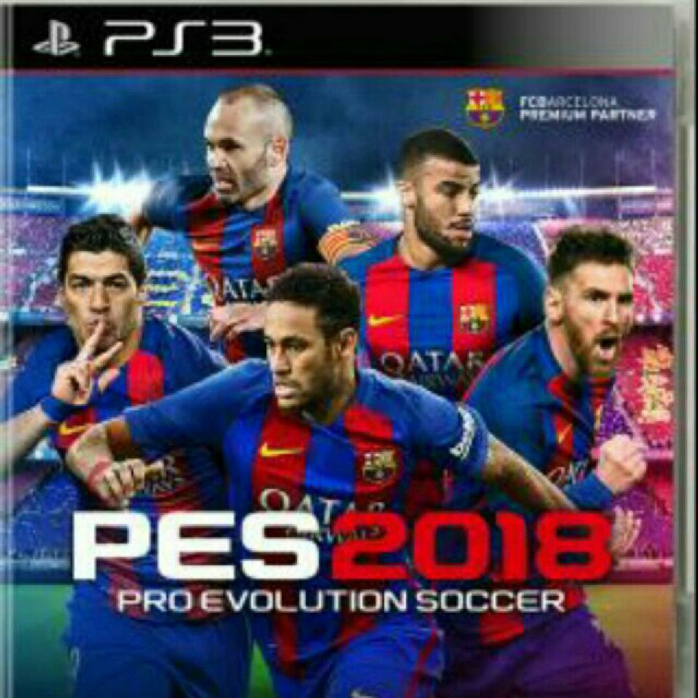 PES 2018 PS3 PKG (NPEB/BLES02252) (9GB)   Games Untuk Mesin OFW