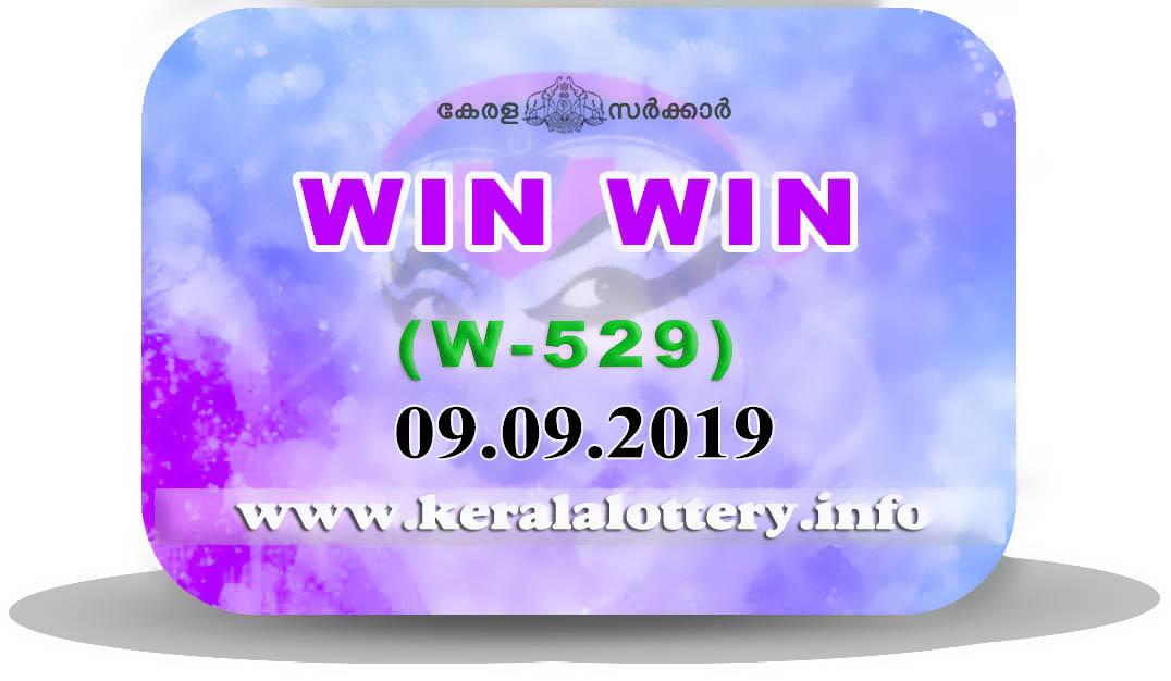 Kerala Lottery Results: 09 09 2019 Win Win W-529 Result