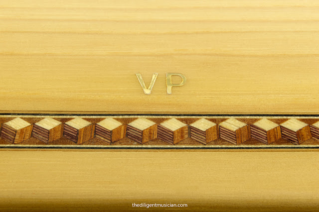 Kenkase Reed Case Review Wood Inlay Closeup
