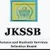 Various selection Lists declared by JKSSB
