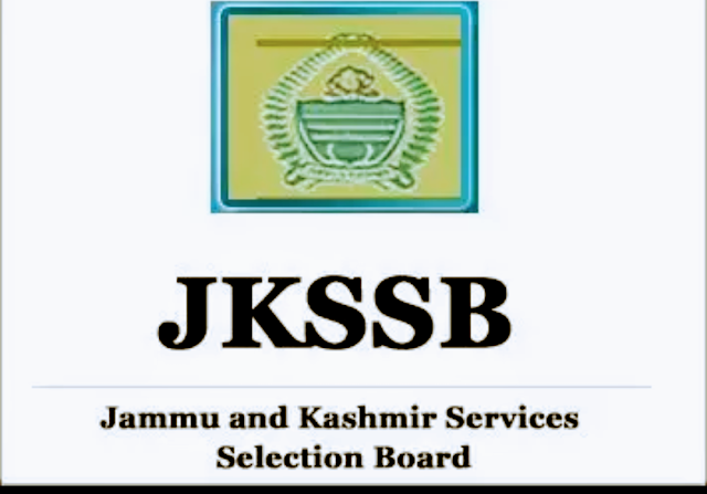 JKSSB Interview cum Document Verification for Various Posts