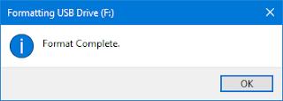 mengubah file sistem flashdisk ke ntfs