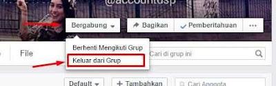 cara mencegah agar tidak di invite group fb
