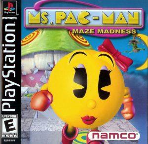 Baixar Ms. Pac-Man Maze Madness (2000) PS1 Torrent