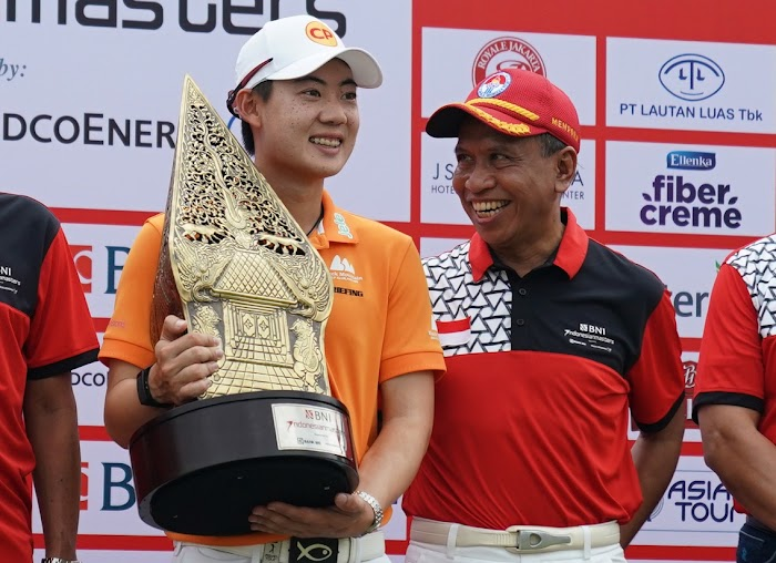 Zainudin Amali Apresiasi Turnamen Golf BNI Indonesian Masters