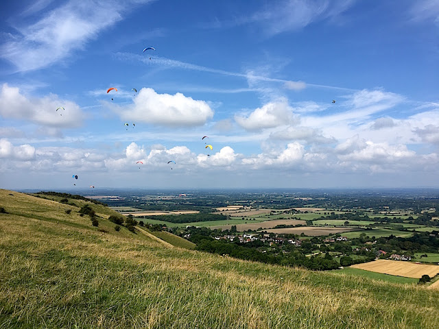 FitBits   Cycling the South Downs Way - Amberley to Devil's Dyke
