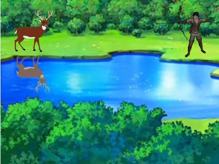 मुर्ख बारहसिंगा The reindeer story