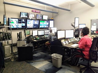 CLTV control room