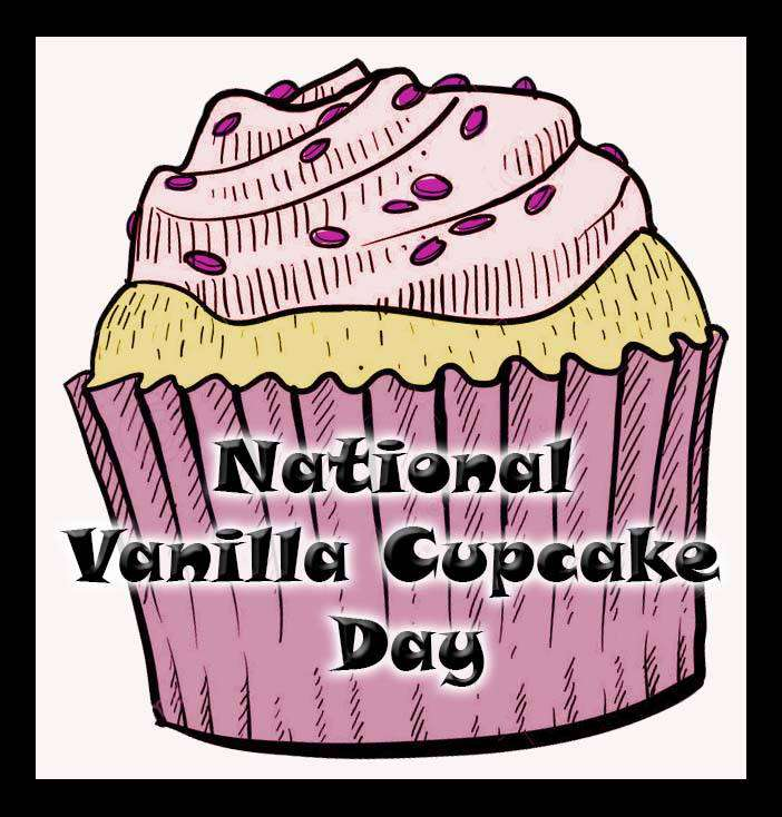 National Vanilla Cupcake Day Wishes Pics