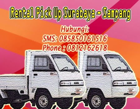 Sewa Pick Up Zebra Surabaya-Sampang