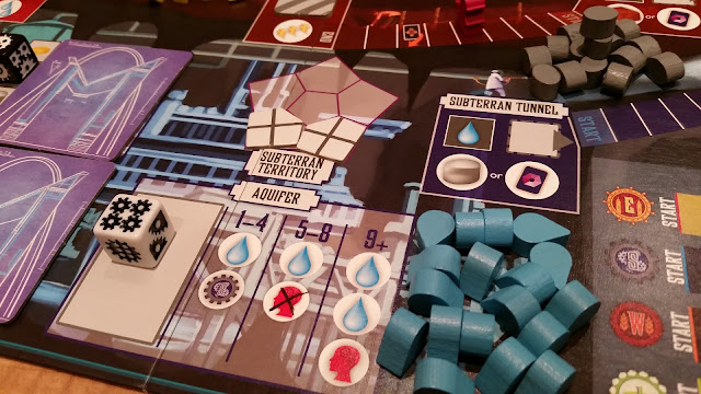 Euphoria board game review dice worker placement