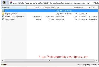 Bigasoft Total Video Converter v5.0.10.5862 + Keygen [MEGA] [UL]