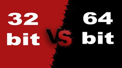 الفرق بين نظامين 64bit و 32bit؟