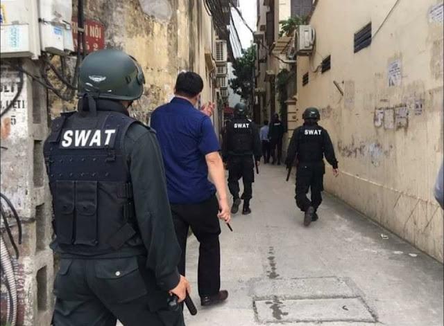 Lực lượng đặc nhiệm SWAT này có vai trò như cảnh sát cơ động?