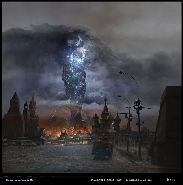 Concept art de La hora más oscura