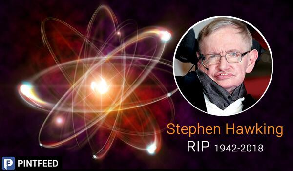 Stephen Hawking- RIP 1942-2018 | PintFeed