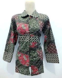 Gambar Model Baju Batik Kerja Guru Model Baju Batik Kerja Guru Kombinasi