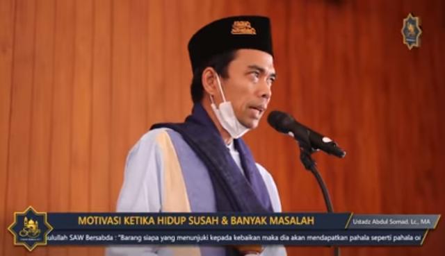 Nasehat Ustadz Abdul Solmad Saat Hati Gelisah dan Sedih