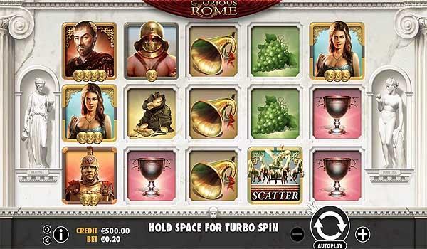 Main Gratis Slot Indonesia - Glorious Rome (Pragmatic Play)
