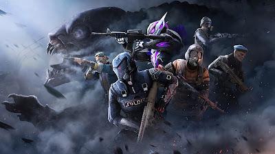 PC PUBG Metro Exodus game wallpaper