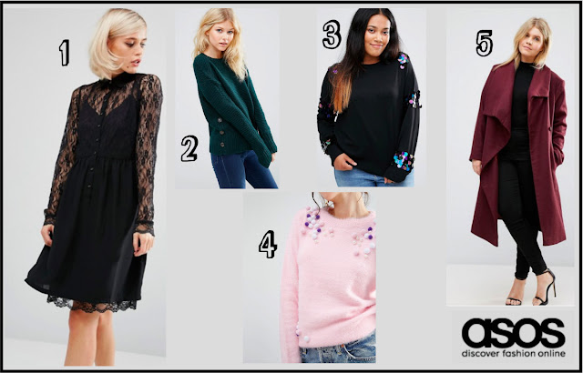 ASOS Autumn/Winter 2016 Wishlist