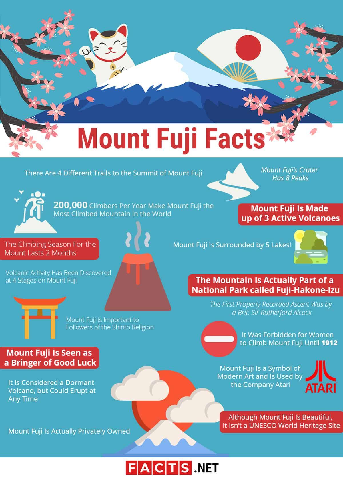Mount Fuji Infographic