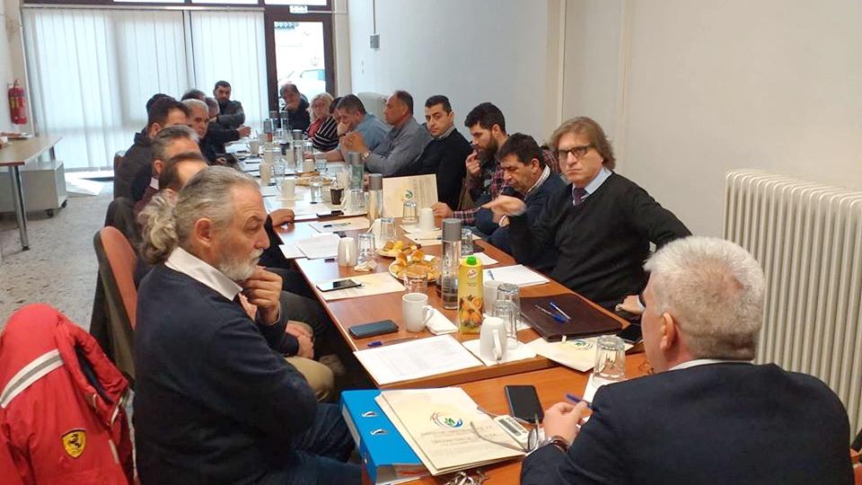 Το νέο Διοικητικό Συµβούλιο της Δημοσυνεταιριστικής Έβρος Α.Ε.