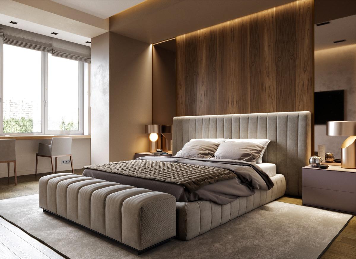 Thiết kế nội thất phòng ngủ chung cư N03T6 Ngoại Giao Đoàn và 3 điều cần phải tránh
