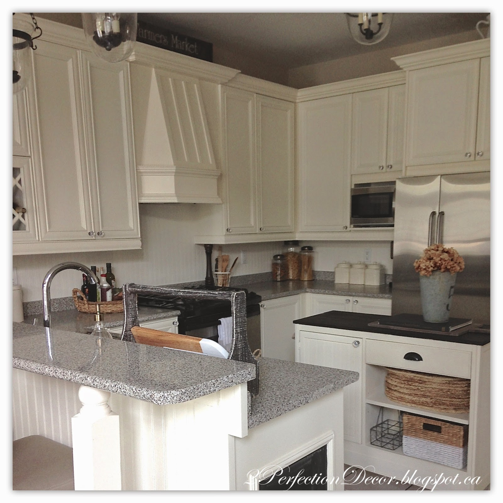 French Provincial Kitchen: 2Perfection Decor: Painted French Country Kitchen Reveal