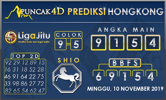 PREDIKSI TOGEL HONGKONG PUNCAK4D 10 NOVEMBER 2019