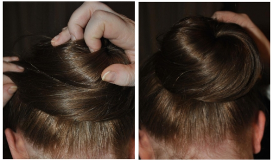 Easy hair doughnut tutorial