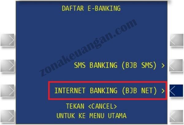 Cara Mudah Daftar Dan Aktivasi Bjb Net Zonakeuangan Com