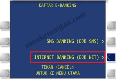 Daftar bjb NET