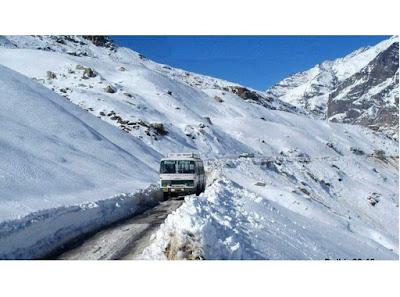 Himachal Most Dangerous Road