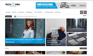 TechPro Blogger Template