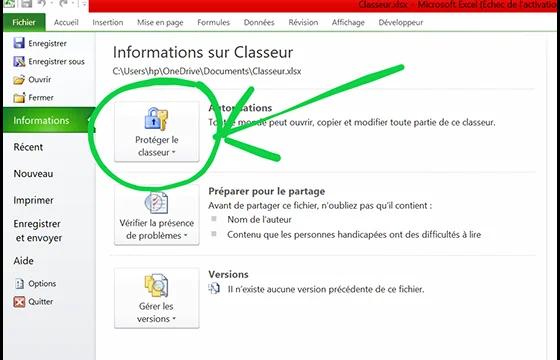 Cryptage de documents Microsoft Office